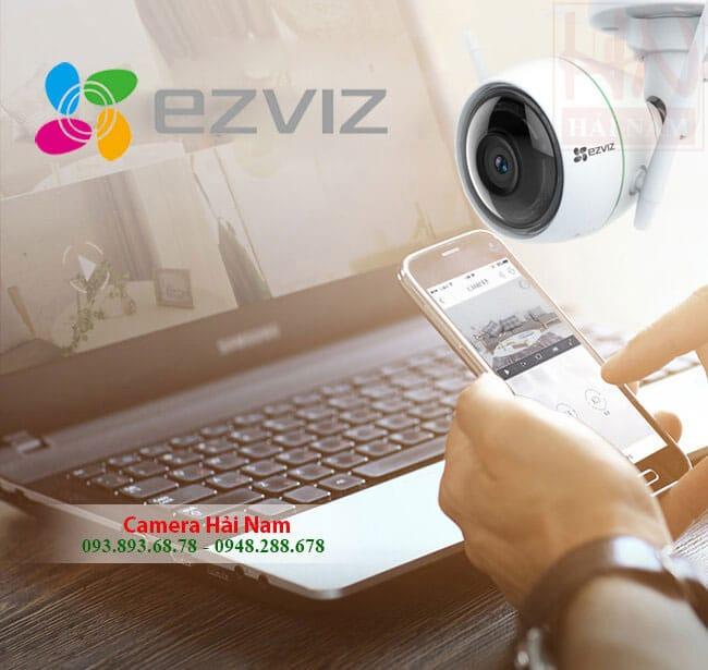 Camera IP Wifi Ngoài trời EZViz 2M Full HD 1080P chống nước, báo trộm thông minh