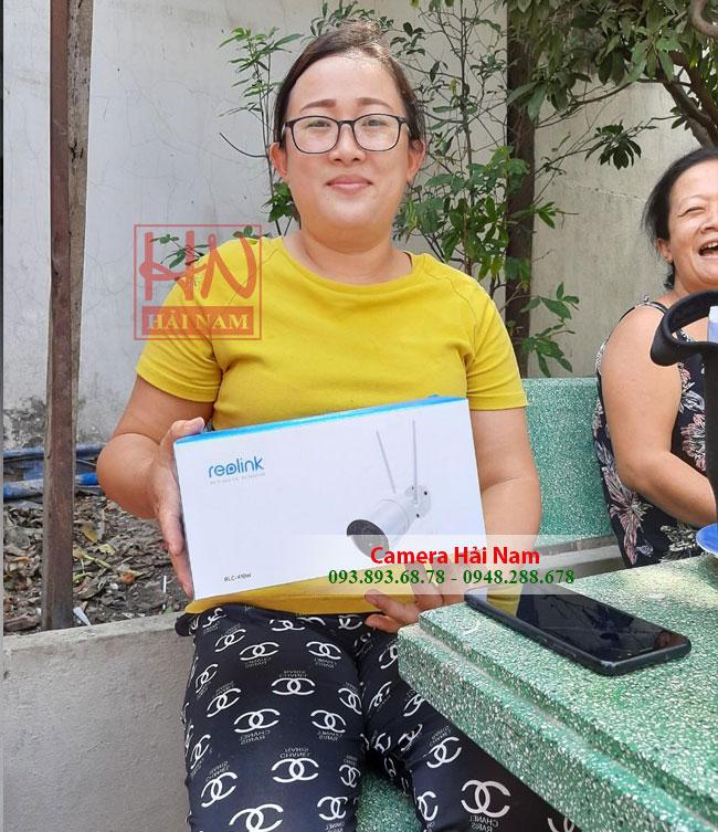 Khách hàng tin tưởng và mua camera tại Hải Nam