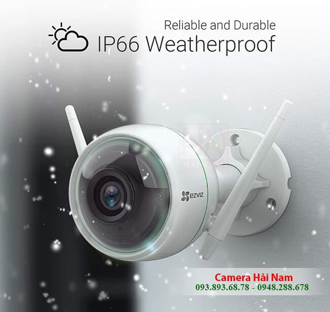 Camera an ninh wifi ngoài trời EZviz 2MP Full HD 1080P