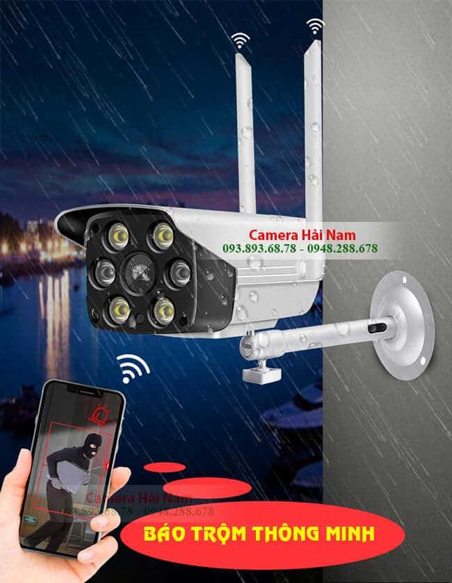 Camera an ninh ngoài trời Yoosee 2.0M có hình màu, đàm thoại