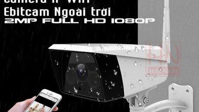 Photo of Camera IP không dây ngoài trời Ebitcam 2.0MP Full HD sắc nét, chống nước, ánh sáng trắng cực thông minh GIÁ RẺ