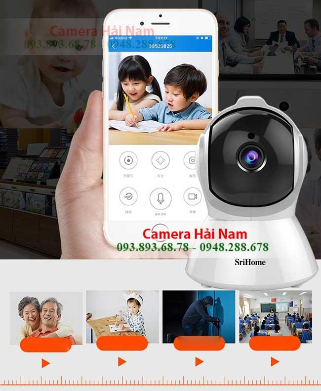 Camera SriHome SH025 xem tren dien thoai 24 24