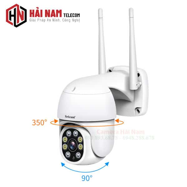Camera wifi ngoai troi 360 2mp full hd 1080p