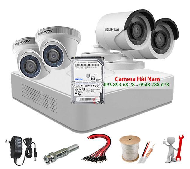trọn bộ camera hikvision