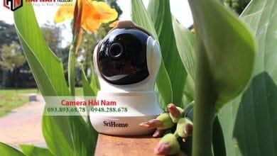 Camera Wifi giá rẻ 3MP Sắc nét_Xoay 360_Báo trộm