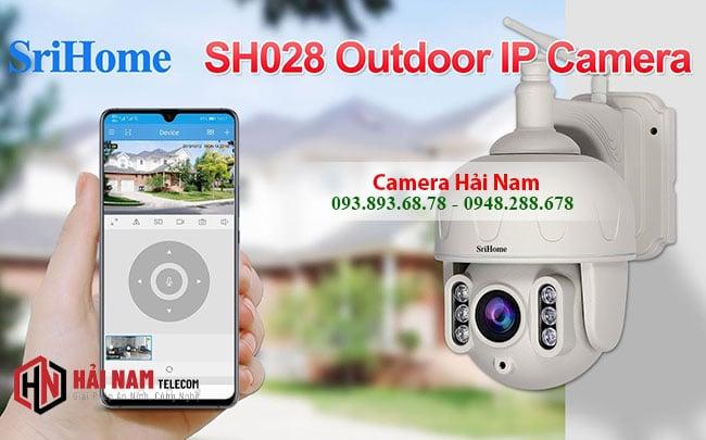 Camera IP WIfi Ngoai Troi 3MP Xoay 360 Zoom Quang 5X XEM tren dien thoai