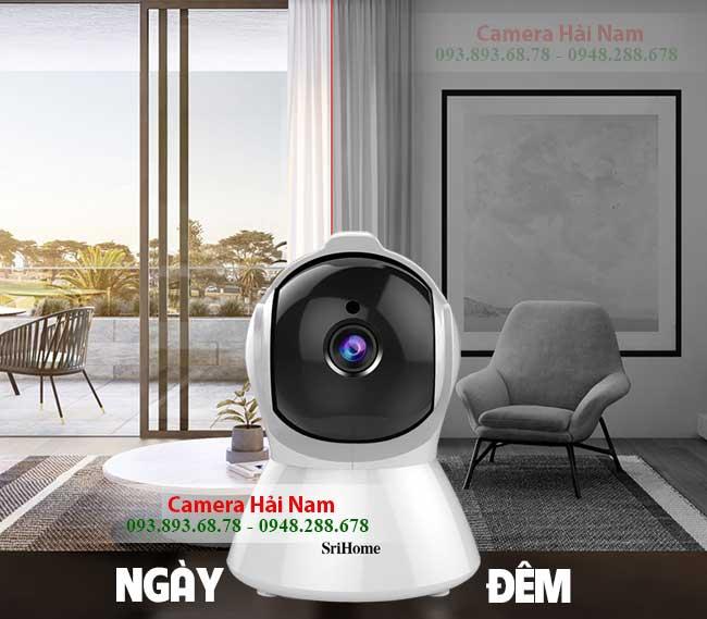 Camera SriHome SH025 CO HONG NGOAI XEM HINH CA NGAY DEM