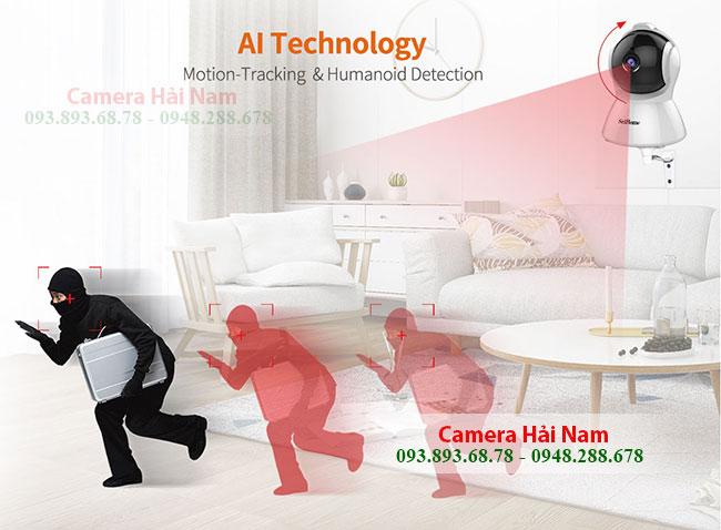 Camera SriHome SH025 bao trom lien tuc