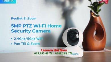 Camera Wifi Reolink E1 ZOOM 5MP Siêu Nét NHẬP KHẨU 100% | Lắp đặt Camera Wifi Chính hãng GIÁ CẠNH TRANH