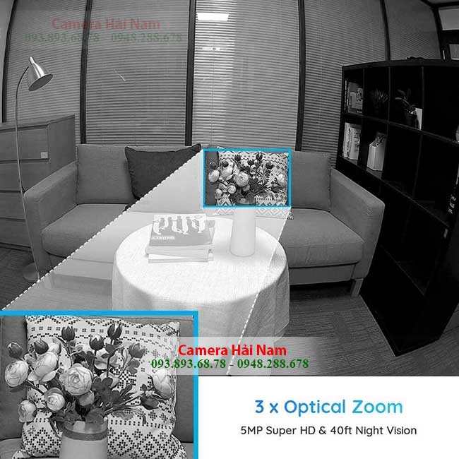 zoom can canh camera wifi reolink 5mp e1 zoom