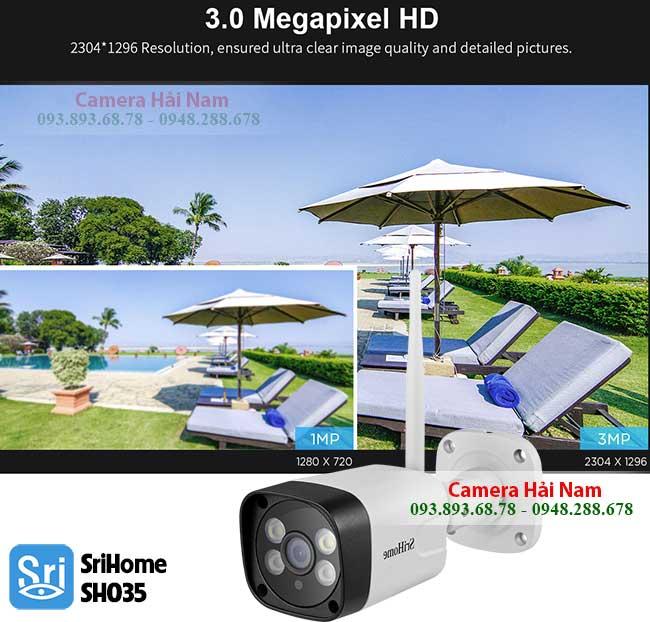 Camera SriHome SH035 Ngoai Troi sieu net