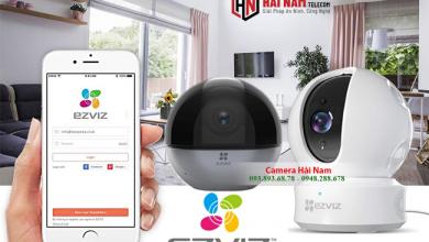 Cách cài đặt camera Ezviz trên Điện thoại IOS, Android chi tiết