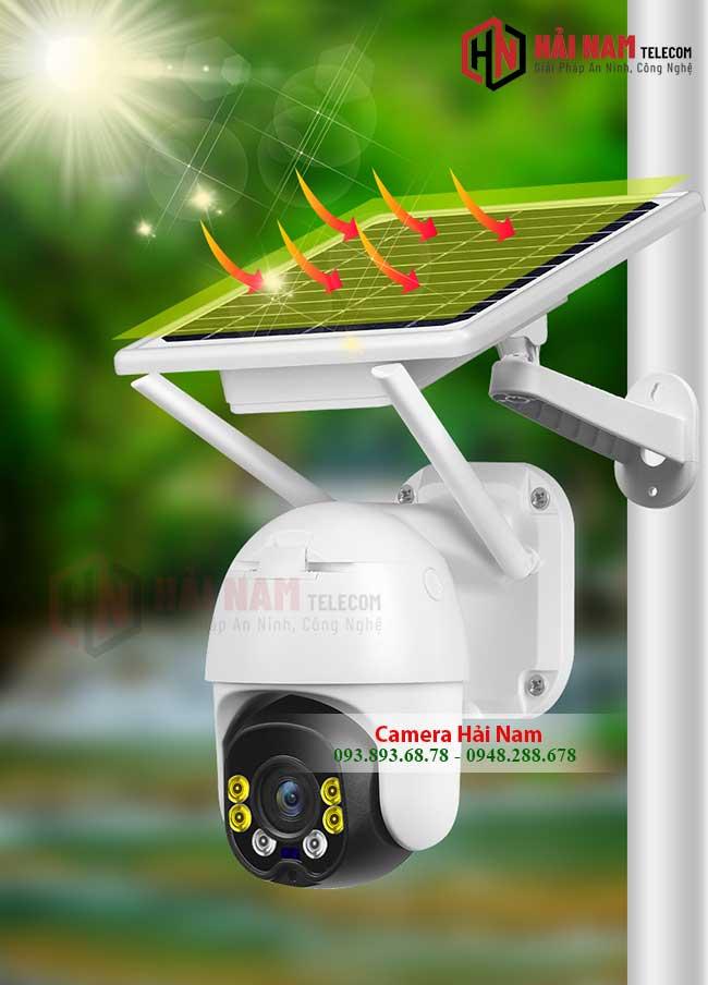 Camera 4G Ngoài Trời Dùng Năng Lượng Mặt Trời 2MP