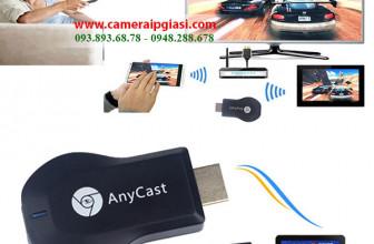 HDMI không dây Anycast M2 Plus kết nối đa phương tiện với Tivi giá rẻ nhất