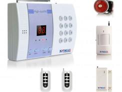 Thiết bị chống trộm Komax KM-800P báo qua điện thoại