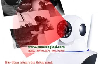 Camera wifi không dây quan sát hồng ngoại vào ban đêm
