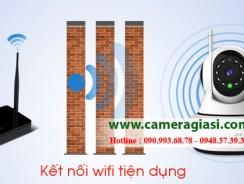 Hướng dẫn cách cài đặt kết nối wifi cho camera ip wifi không dây
