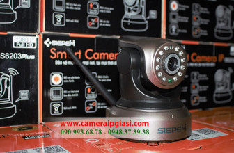 Camera Siepem S6203 Plus, Camera ip wifi S6203 Plus giá rẻ nhất