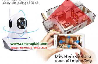 Đánh giá Camera YooSee 2 râu quay quét 360 độ