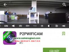 Hướng dẫn cài đặt camera ip wifi không dây xem trên điện thoại smartphone